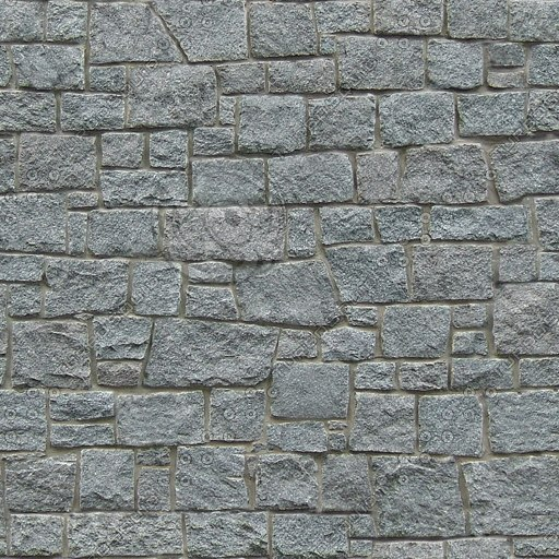 BL087 stone wall ashlar blocks