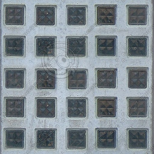 T003 glass tiles concrete