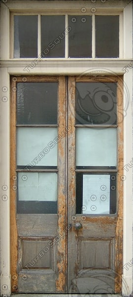 D158 wooden door texture