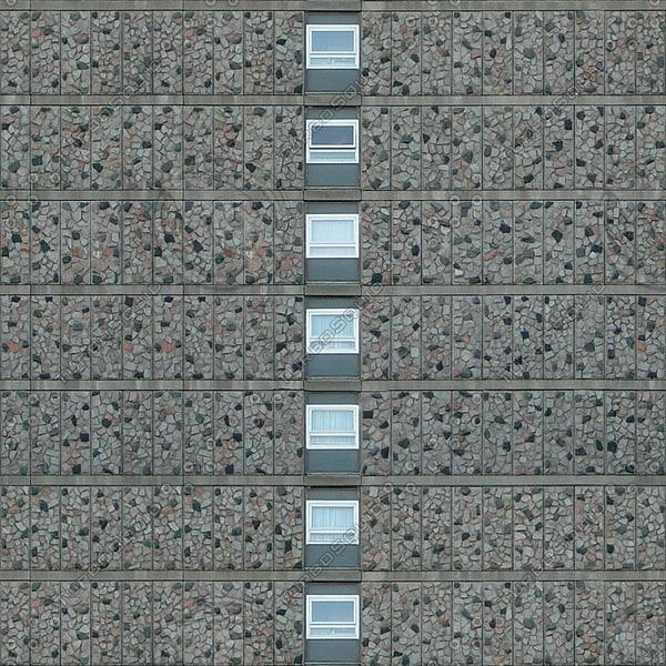 BF099 skyscraper facade texture