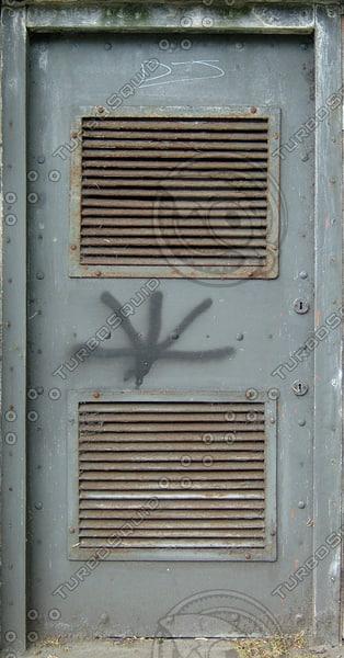 D169 wooden door basement
