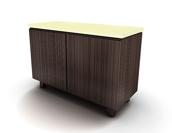 sidetable entourage 3d model