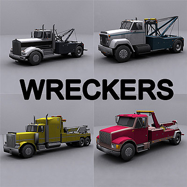Wreckers / Tow Trucks collection