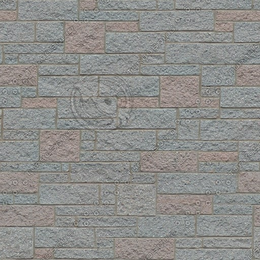 BL164 stone wall ashlar texture