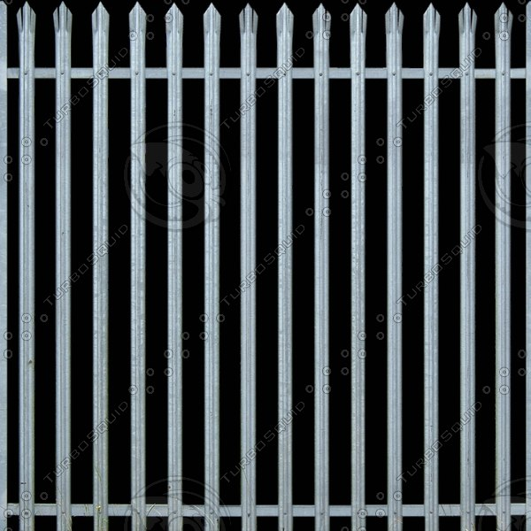 MSK003 metal security fence