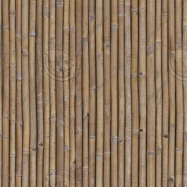 WD152 bamboo fence wall texture