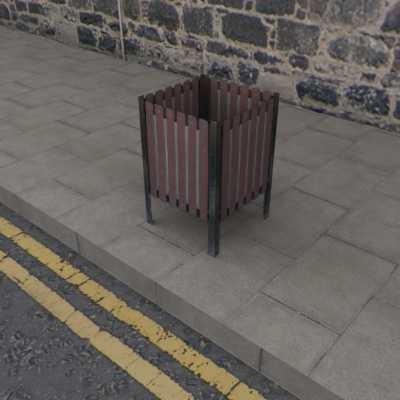 Litter Bin Garbage