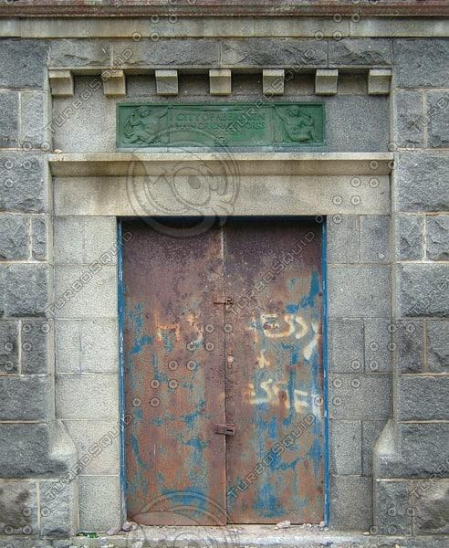 BF097 door wall building texture