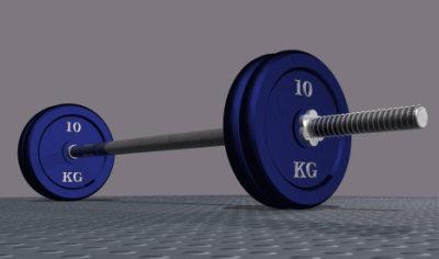 maya 40 kilogram barbell