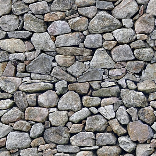 BL019 dry stone wall texture