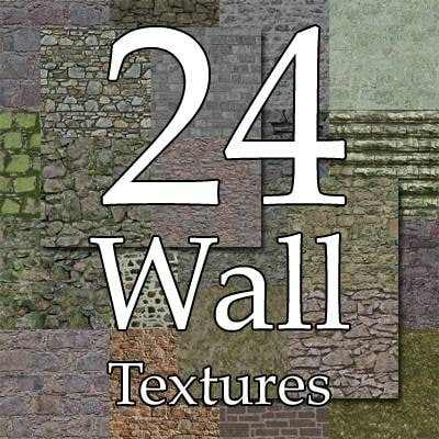 UPCW24 stone blocks wall collection