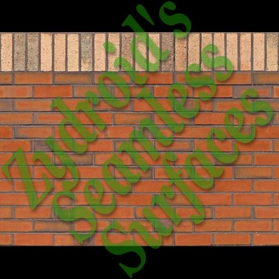 SRF red brick wall texture