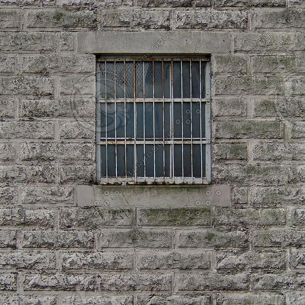 WND121 prison jail windows texture