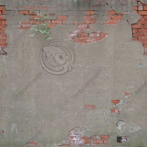 W324 red brick wall