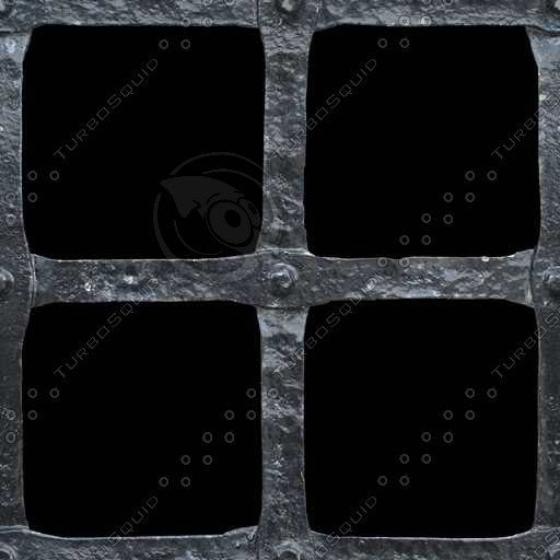 M192 black metal bars texture