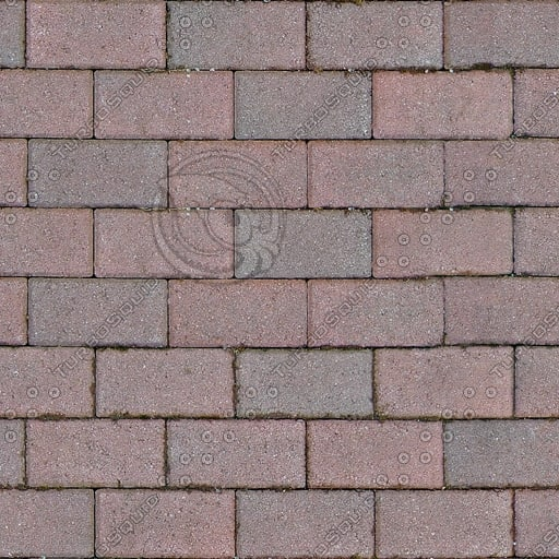 G169 red brick paving