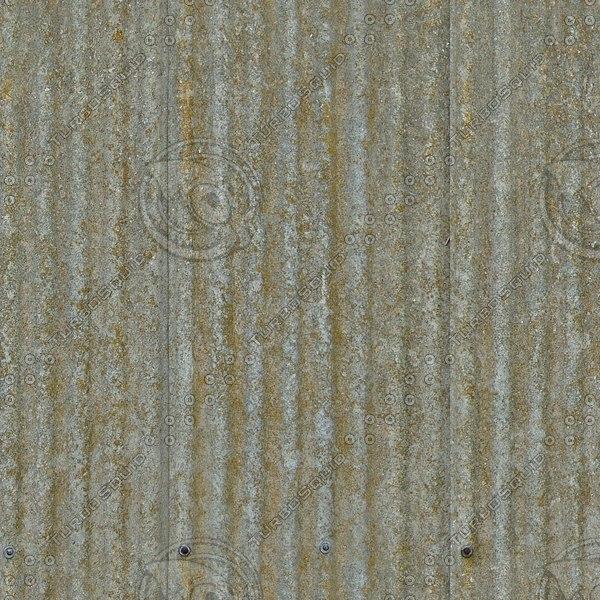 R083 corrugated fibre roof texture
