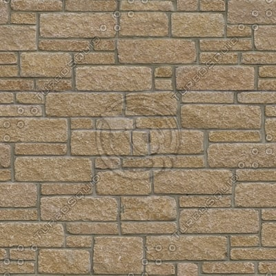 BL167 stone wall blocks texture