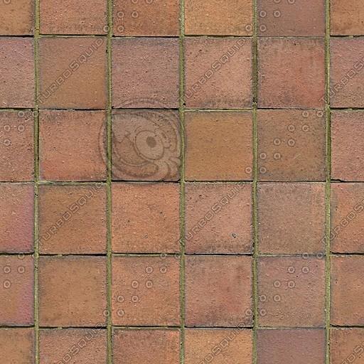T025 terracotta floor tiles texture