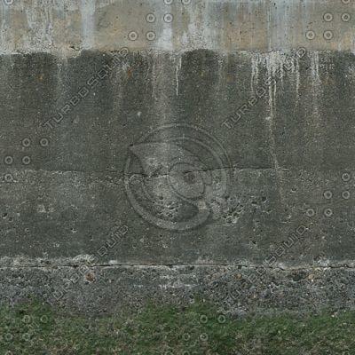W108 concrete harbor wall
