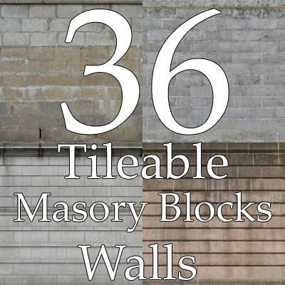 wall texture collection blocks