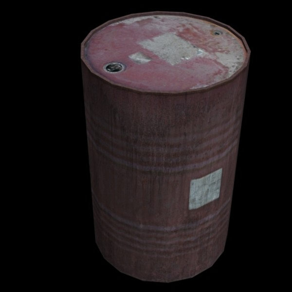 3ds oil drum
