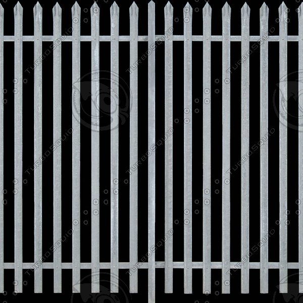 F022 metal fence security
