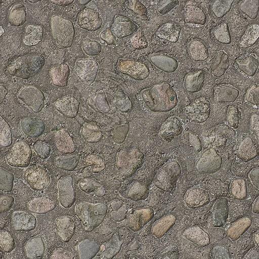 G165 concrete raised aggregate