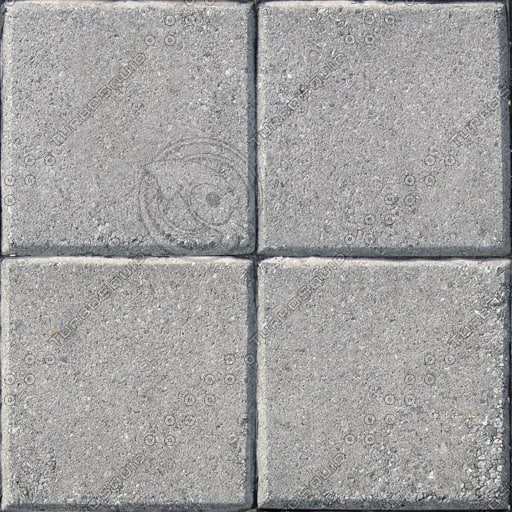 C005 concrete paving wall