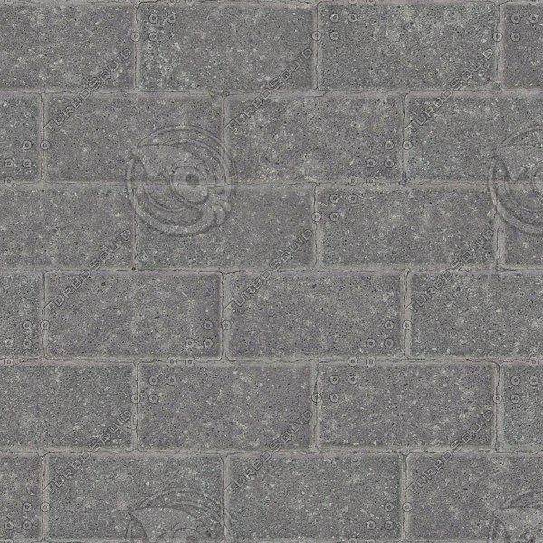 G346 concrete brick paving texture