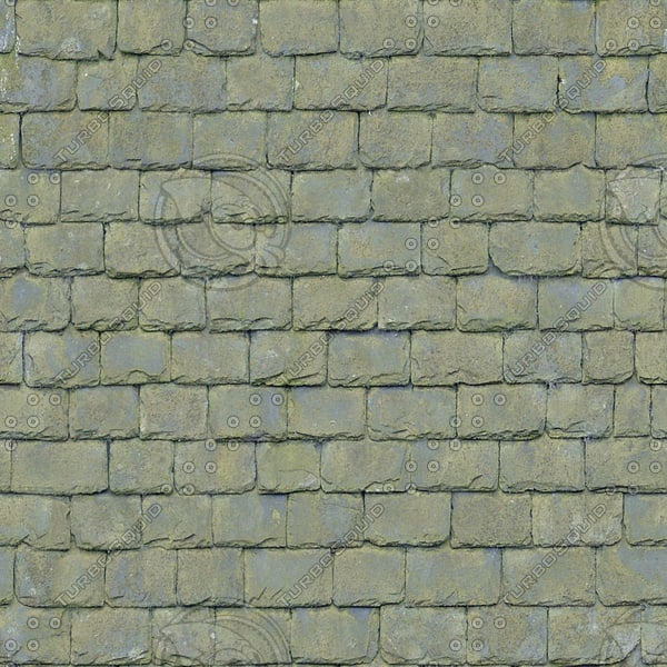 R094 green slate roof texture