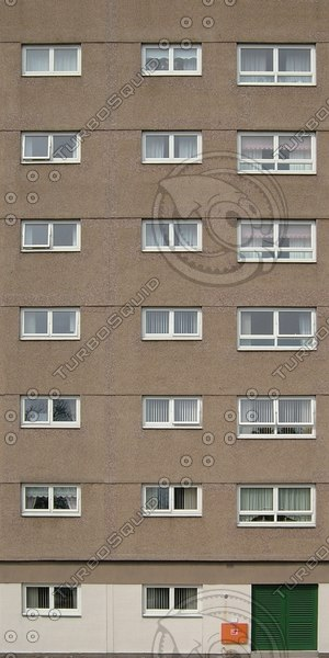 BF114 apartment building facade