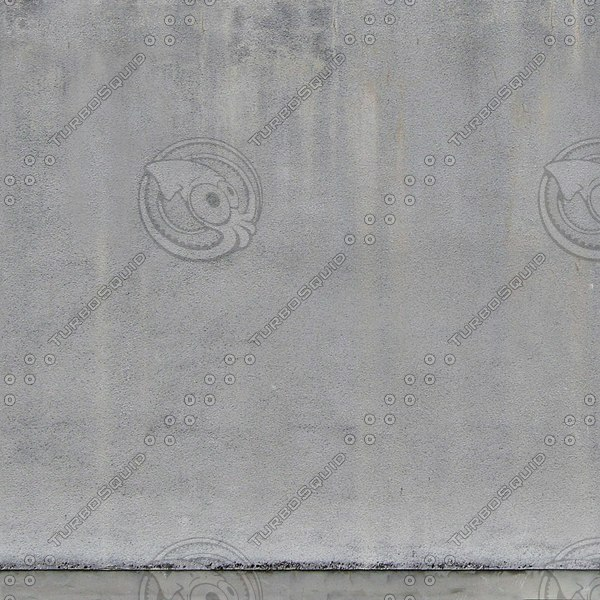 W032 white stucco concrete wall