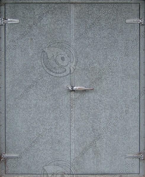 D159 metal double door texture