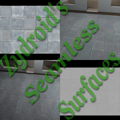 SRF sidewalk concrete paving slabs
