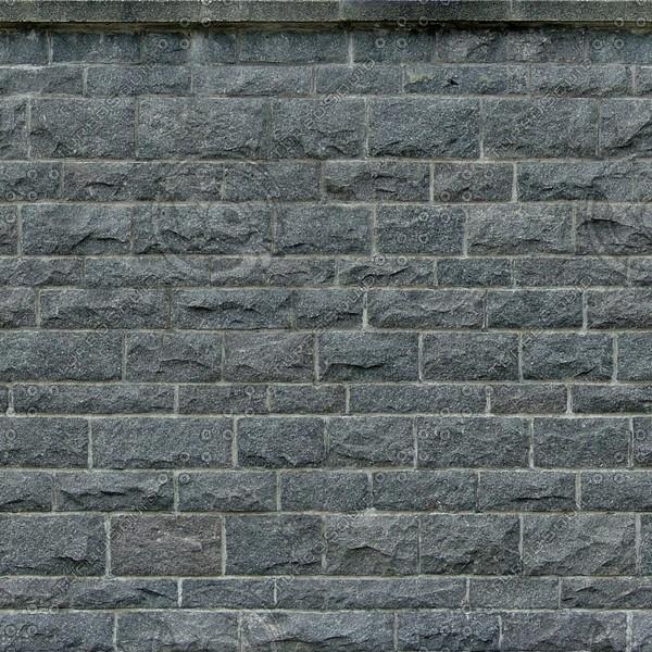 W069 dark stone wall texture