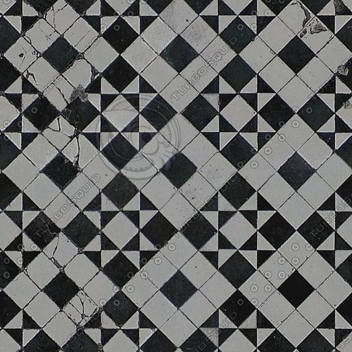 FL010 checkered floor tiles texture