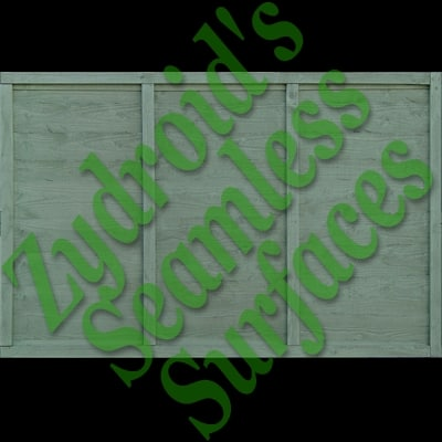 SRF wooden fence wanelap