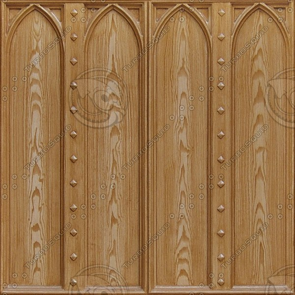 WD113 beveled wooden panels