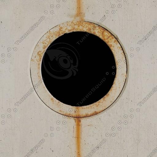 MSK001 concrete wall porthole