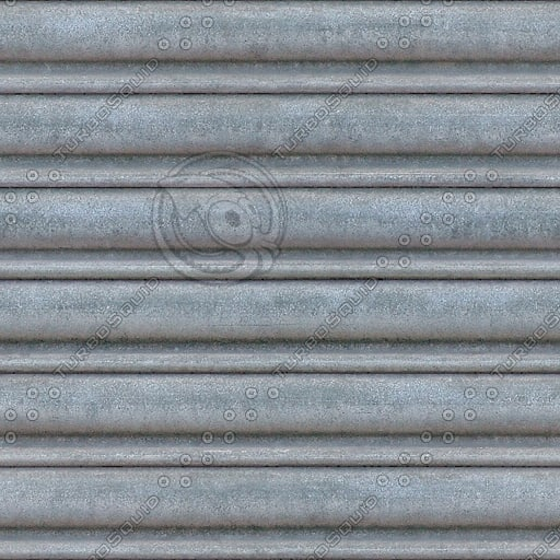 M046 metal roller door high detail