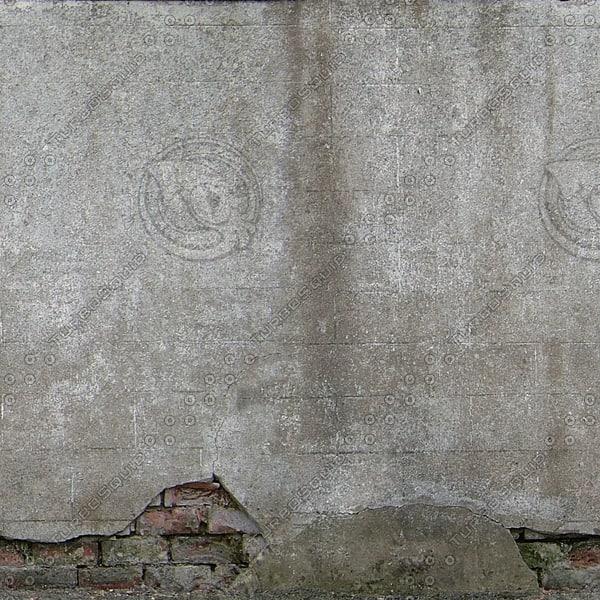 W342 dirty stucco wall texture