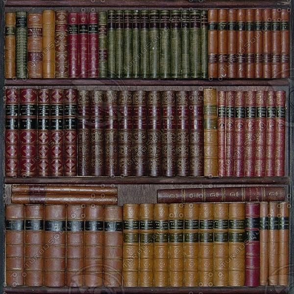 Bk01 fake books bookcase texture