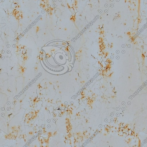 M125 blistered white paint texture