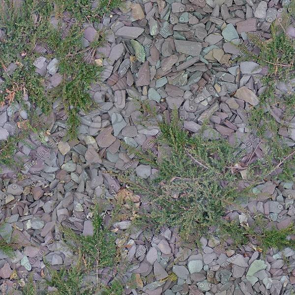 G375 crushed rocks stones
