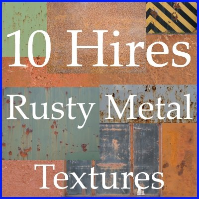 metal texture collection