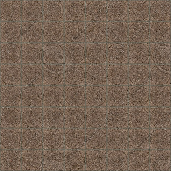 FL020 brown floor tiles texture