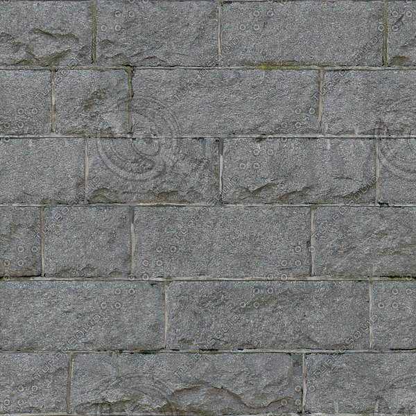 BL154 gray stone blocks block