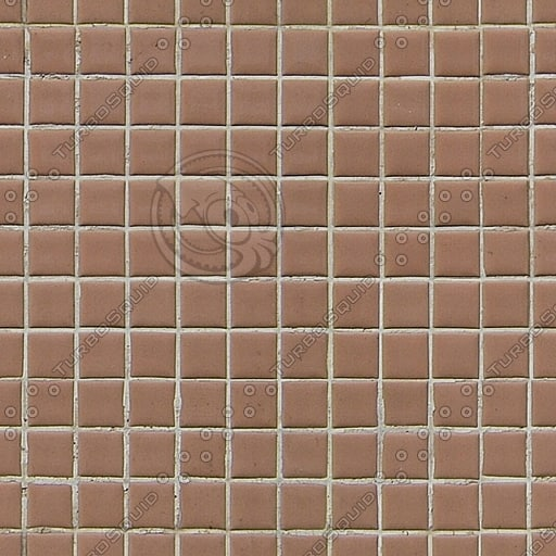 T034 small brown tiles texture