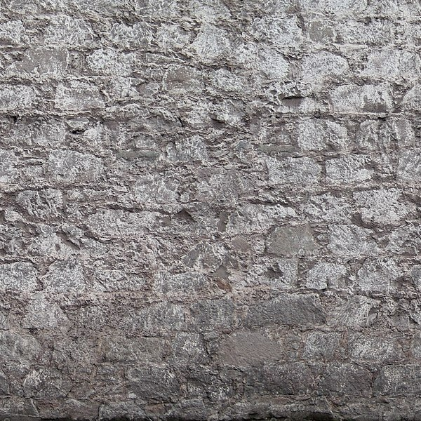 W148 painted stone wall